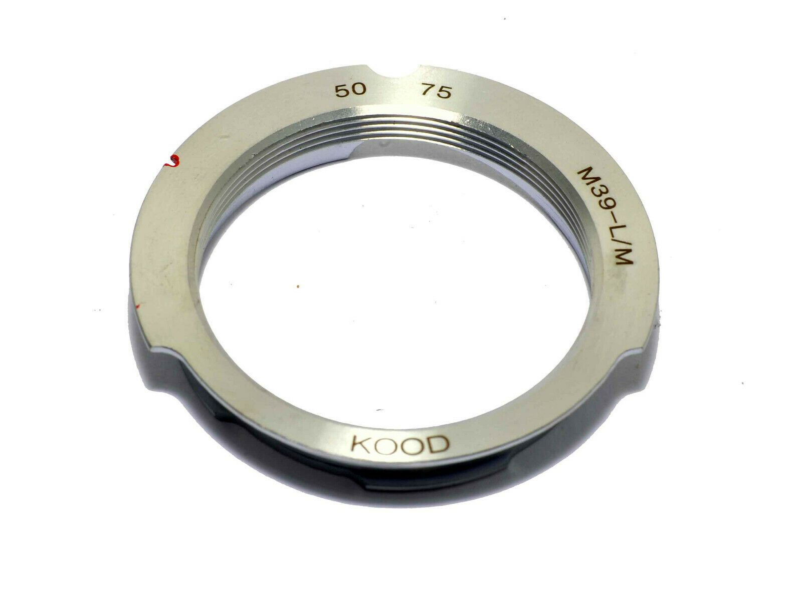 K/&F Concept Lens Mount Adapter for Leica 50mm//75mm M39 Mount Lens to Leica M