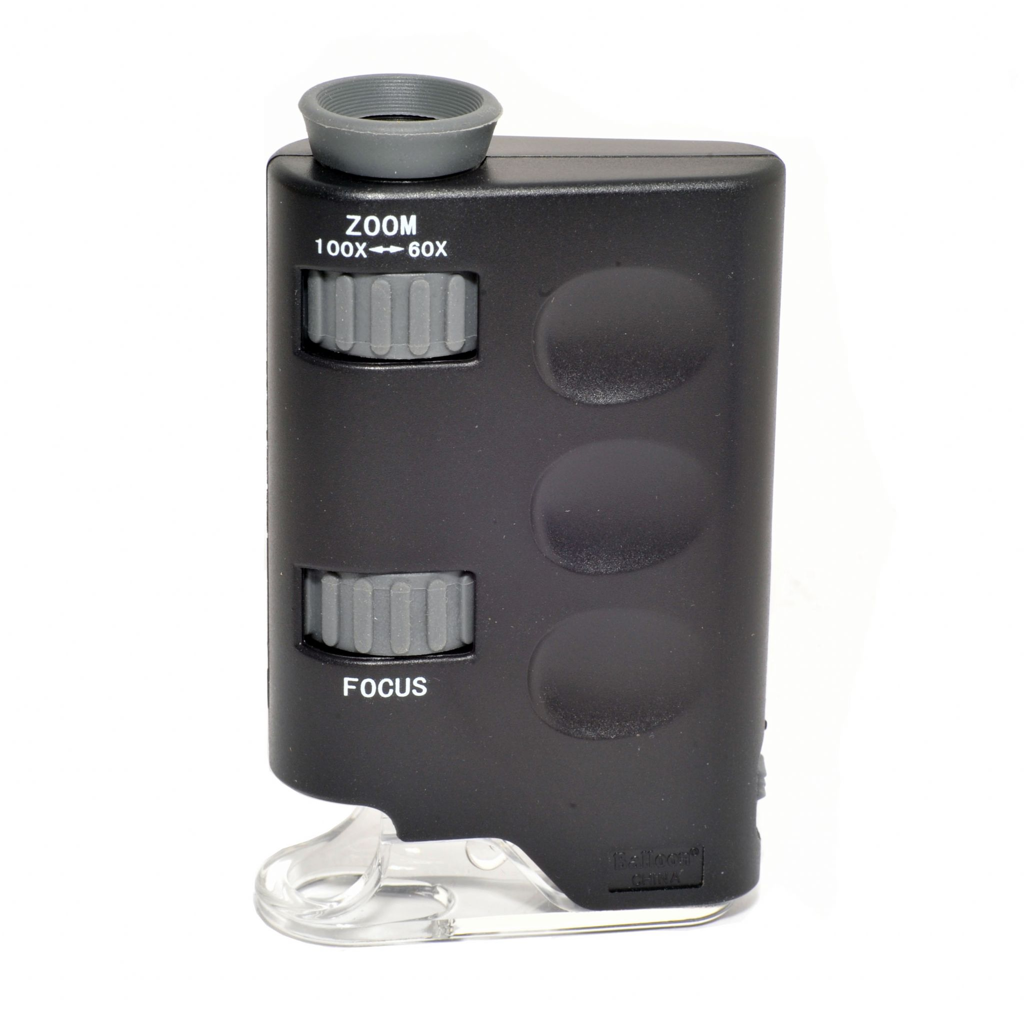 Zoom Microscope with LED 60x-100x magnification